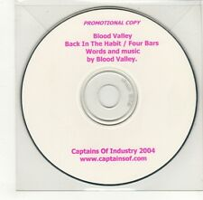 (GO447) Blood Valley, Back In The Habit / Four Bars - 2004 DJ CD