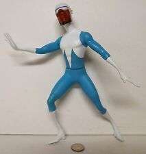 "Disney Pixar The Incredibles Frozone 12"" tall figure Disney Store RARE !!!"