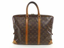 Vintage Louis Vuitton Porte Voyage Documents Briefcase Duffle Travel Bag B172