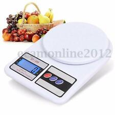 SF-400 10kg/1g Digital LCD Electronic Kitchen Fruit Food Weighing Scale 10000g