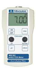 Milwaukee Instruments MW802 Portable pH / Conductivity / TDS Combination meter