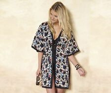 New YOURSTYLE Kaftan Kimono Beach Cover-Up Animal Look Plus size fit 16 18