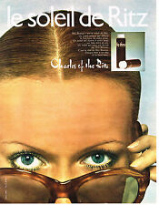 PUBLICITE ADVERTISING  1970   CHARLES OF THE RITZ  cosmétiques            310513