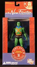 "2007 DC DIRECT THE NEW FRONTIER SERIES 2 MARTIAN MANHUNTER 6"" FIGURE MOC"