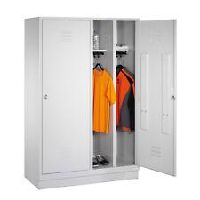 Kleiderspind für 2 Personen 4 Abteile hinter 2 Türen Abteilbreite 300 Sockel