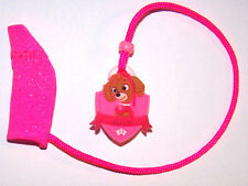 Children's 1 sided Hearing Aid COVER SAFETY RETAINER LEASH CLIP ..SPARKLE DOGGIE