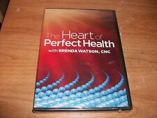 The Heart of Perfect Health With Brenda Watson (DVD 2012) Benefit of Omega 3 NEW