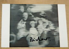 GERHARD RICHTER ~ FAMILIE ~ AUTHENTIC GENUINE HAND SIGNED GERMAN ART POSTCARD