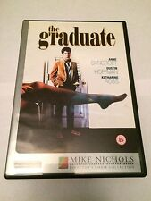 The Graduate (DVD, 2001) dustin hoffman, anne bancroft, with book, region uk dvd