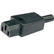 IEC 3 Pin A-linea Socket C13 240 V CA 10A