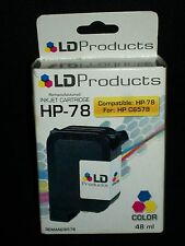 LD Products HP-78 Color Printer Cartridge HP C6578 Exp 4/2009