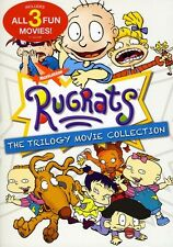 The Rugrats Trilogy Movie + Rugrats in Paris + Rugrats Go Wild Region 1 3xDVD
