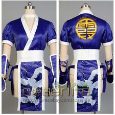 DOA:Dead or Alive Kasumi Cheongsam Suit Dress Outfit Gown Attire Size XS~XL