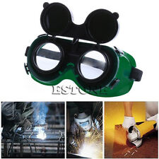 Safety Solder Welding Cutting Grinding Goggles Eye Glasses With Flip up Lens