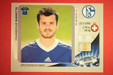 PANINI CHAMPIONS LEAGUE 2012/13 N. 112 BARNETTA SCHALKE 04 BLACK MINT!