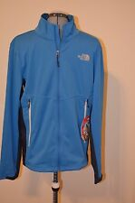 NWT The North Face Mens Cipher Hybrid Jacket Gore Windstopper Coat Blue