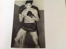 BOXE : JOSE MANUEL URTAIN    - Photo de presse Originale Format 18x13cm