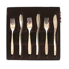 Cromargan Set of 8 Fish Eaters Forks and Knives Cutlery WMF Mayfair Place Settin