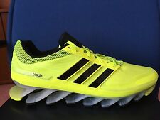 ADIDAS Original SPRINGBLADE M Running Shoes SZ 13 Electric Green Yellow G66972