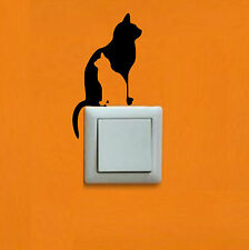 PEGATINA - STICKER - Gatos - Light switch - VINILO- WALL DECAL- VINYL-Aufkleber