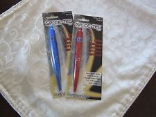2 pens-EMT / EMS Firemen Star of Life Medical Caduceus Emblem  Fisher Space Pen