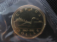 1992 Canadian Prooflike Loonie ($1.00) **Double Date 1867-1992**