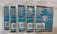 CSP Thick Card Protector Sleeves Packages of 100 Lot of 5 No PVC New NIP