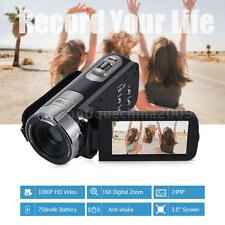 "FULL HD 1080P 24MP HDMI 3"" TFT LCD 16X ZOOM Digital Video Camera DV Camcorder"