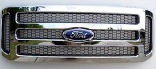 2005- 07 Ford CHROME Grille Grill F250 F450 & Excursion