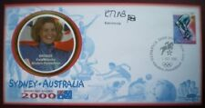 COVER BENHAM SIGNED KATE ALLENBY  SYDNEY 2000  OLYMPIC GAMES