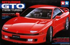 Tamiya 24108 1/24 Scale Model Car Kit Mitsubishi GTO 3000GT Twin Turbo MR