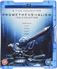 Prometheus to Alien: The Evolution Box Set (Blu-ray, 8 Discs, Region Free) *NEW*