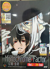 Anime DVD: Monochrome Factor (1-24 End)_Good Eng Sub_All Region_FREE SHIPPING