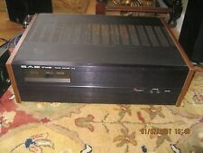 SAE Two Power amplifier, model no. P-10 in very good condition, works well; read