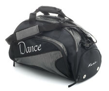 Medium Large Black Sparkly Dance Ballet Tap Kit Holdall Sports Bag KB79 By Katz