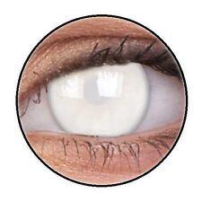 MAX BLIND WHITE lentille de couleur aveugle lens contact halloween horror zombie