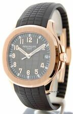 Patek Philippe Mens Aquanaut 5167 18k Rose Gold Automatic Box/Papers 5167R