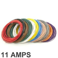* 11 Amp nominal * 0.5mm2 cable de un solo núcleo de pared delgada/Selección de Color de alambre 11