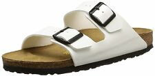 *NIB* ARIZONA 40 N SIZE 9 - 9.5 US WOMEN {WHITE} BIRKO-FLOR SANDALS BIRKENSTOCK