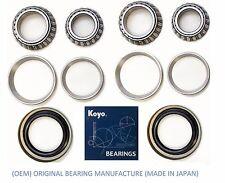 1998-2007 TOYOTA LAND CRUISER Front KOYO Wheel Bearing & Race & Seal Kit