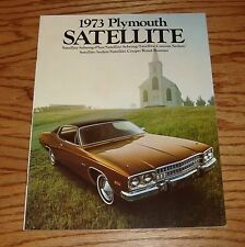 Original 1973 Plymouth Satellite Sales Brochure 73 Road Runner