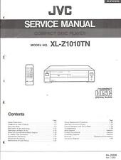 JVC Original Service Manual für XL-Z 1010 TN