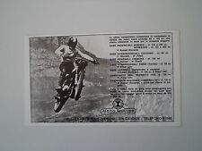 advertising Pubblicità 1972 MOTO MULLER CROSS