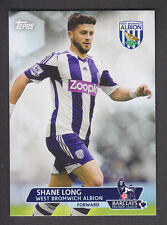 Topps Premier Gold 2013 - Base # 95 Shane Long - West Bromwich Albion