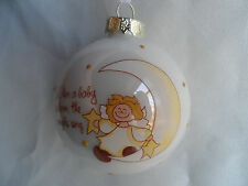 How Blessed I am When a Baby is Born the Angels Sing Christmas Tree Ornament new
