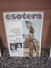 Esotera, Heft 6 Juni 1976 Die Wunderwelt an den Grenzen