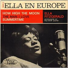 """ELLA FITZGERALD """"HOW HIGH THE MOON"""" VOCAL JAZZ 60'S EP BARCLAY / VERVE 70379"""