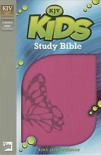 King James Version Kids Study Bible by Lawrence O. Richards (2014, Book, Other)