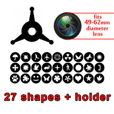 Universal Bokeh Prime Kit of Shapes POPULAR Master Special Effects Filter