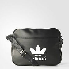 New ADIDAS ORIGINALS AIRLINER BAG/ messenger bag/ schoolbag/unisex black